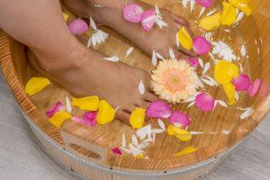 Blooming Nail Spa pedicure
